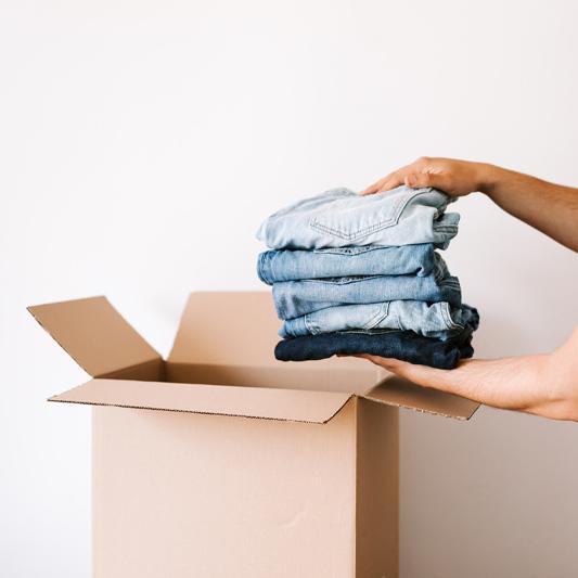 Pistä vaatteet kiertoon